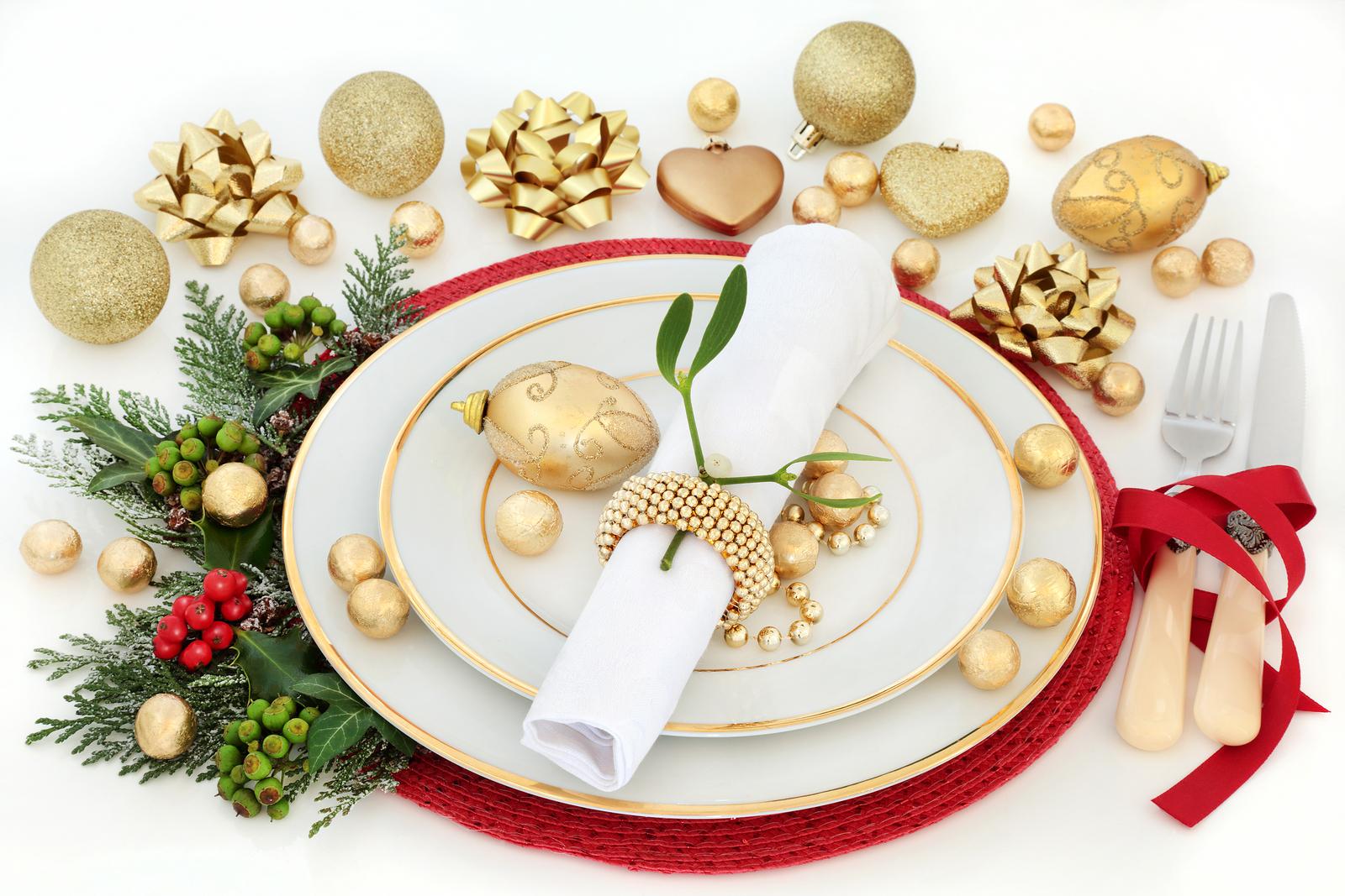 Cenas saludables de Navidad y Año Nuevo
